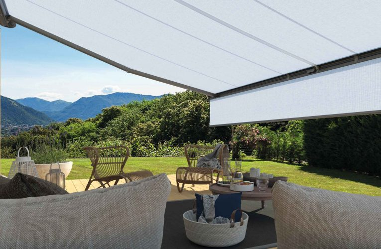 Classy Exterior Awnings Combine Quality Protection with Style